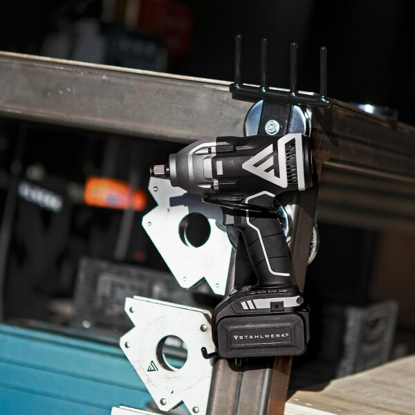 Holder for magnetic holder for impact wrenches