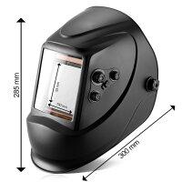 Fully automatic helmet STAHLWERK ST-900X black