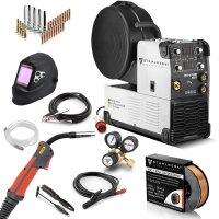 MIG 270 ST IGBT welder with synergic wire feed and real...