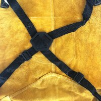 Protective real leather apron