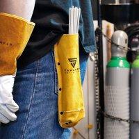 Electrode bag / Welding Rod Holder real leather