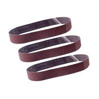 Aluminium oxide sanding belt 240# grit 40 x 760 mm
