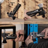 Multi-function tool set hammer and ax 13 in 1