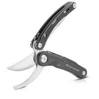 Multifunction tool set folding pruning shears 5 in 1