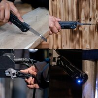 Multifunctional tool set spanner and lamp 10 in 1