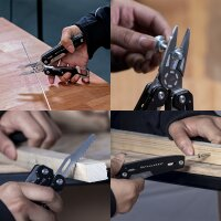 Multifunction tool set pocket knife and pliers 11 in 1