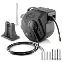 Automatic compressed air hose reel DA-20 ST