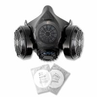 STAHLWERK HM-2 ST half mask with double filter
