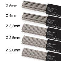 Stick electrodes set of 5 STAHLWERK AWS E6013, 2 kg each...