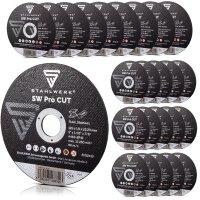 STAHLWERK cut-off wheel/grinding disc Ø 125 x 1.6...