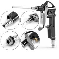STAHLWERK Compressed Air Blow Gun with Long Tip for...