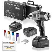 STAHLWERK Tyre Change Set Pro consisting of jack, rotary...
